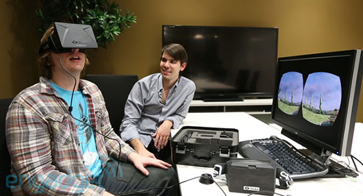 Oculus Rift  - from Nate Sean of engadget